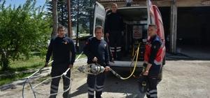 Gediz Belediyesi itfaiye araçlarının tamir ve bakımları yapıldı
