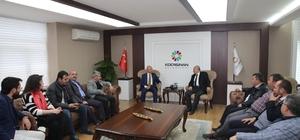 Ak Parti İl Yönetiminden Başkan Çolakbayrakdar'a teşekkür ziyareti