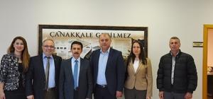 Defterdar Osman Çitgez'den ÇTB'ye Ziyaret