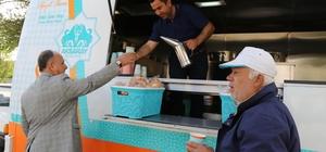 Aksaray'da mobil çorba aracından haftada 3 bin kişi faydalanıyor