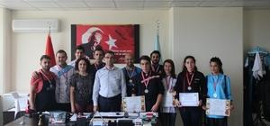 BUBYO gastronomi yarışmalarında madalyaları topladı