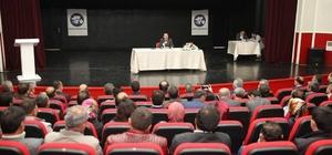 Vali Balkanlıoğlu okul aile birliği başkanları ile buluştu