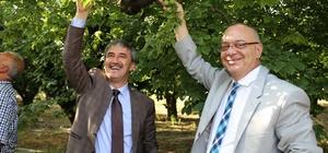 Başkan Ergün ve Başkan Şirin'e muhtarlardan jest