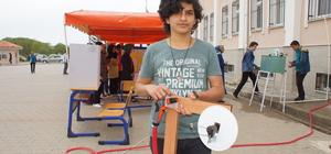 Musluktan akan suyu elektriğe dönüştüren proje