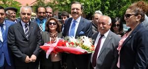 TOBB Başkanı Hisarcıklıoğlu Tunceli'de