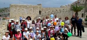 Çeşme'de müzeler çocuklara açıldı
