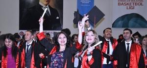 Zile'de mezuniyet coşkusu