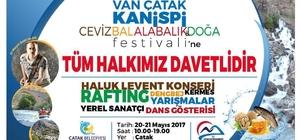 Çatak'ta festival heyecanı