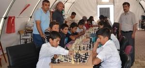 Samsat'ta satranç turnuvası düzenlendi