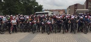 Yenice'de 7'den 77'ye Bisiklet Turu yapıldı