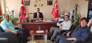Didim Ticaret Odası'ndan MHP İl Başkanı İlter'e ziyaret