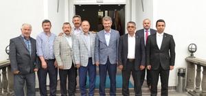 Esnaf Odaları ve STK temsilcilerinden Kayseri Şeker'e destek