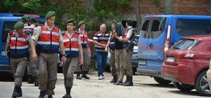 Yurt dışına kaçarken yakalanan terör şüphelisine tutuklama