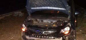 Gürün'de trafik kazası: 1 yaralı