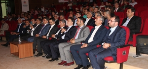 Elazığ'da 'Kardeşlik Sınır Tanımaz' konferansı