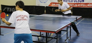 Haliliyeli sporculardan masa tenisinde sekiz madalya kazandı