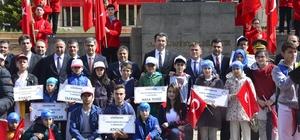 Gümüşhane'de 19 Mayıs Atatürk'ü Anma, Gençlik ve Spor Bayramı kutlandı