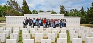 Lise son sınıf öğrencileri Çanakkale'de