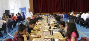 Kahta'da satranç heyecanı