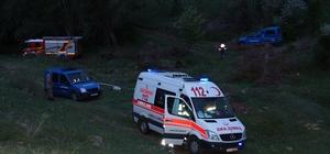Arazide yaralı bulunan kayıp kişi kurtarılamadı