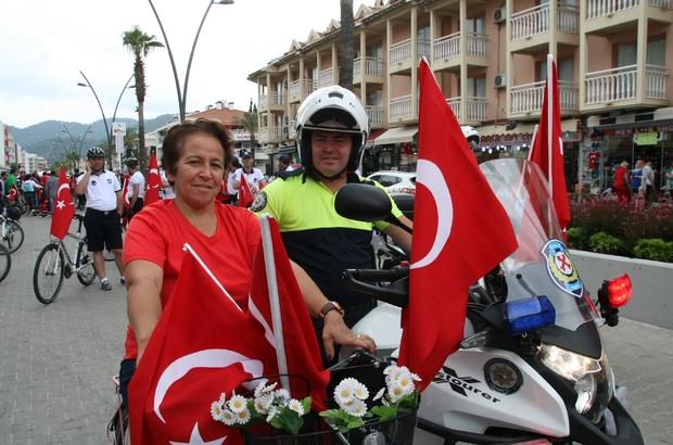 Marmaris Belediyesi Bisiklet Yolu halkın hizmetine açıldı