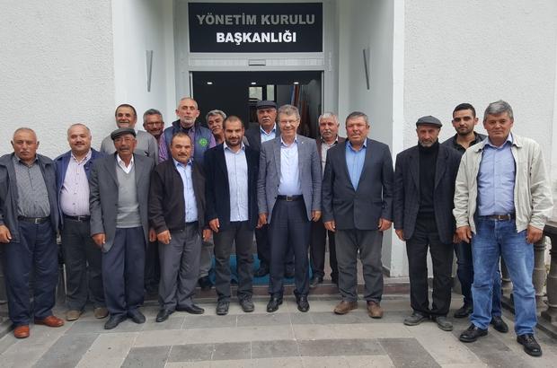 Bünyan çiftçilerinden  Başkan Akay'a destek ziyareti