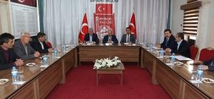 Vali İsmail Ustaoğlu, STK'larla bir araya geldi