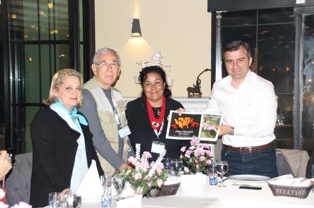Başkan Yemenici DOGAY'ın jüri üyeleriyle yemekte bir araya geldi