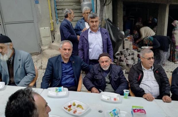 Başkan Yaman, kınalı kuzuları askere uğurladı