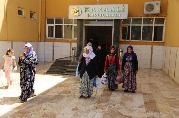 Haliliye'den Karaali kaplıcalarına sağlık turu