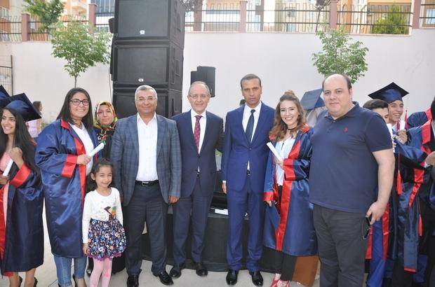 Vedat Topçuoğlu Anadolu Lisesinden ilk öğrenciler mezun oluyor