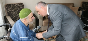 65 yaşındaki Paşa Amca artık gönlünce dolaşabilecek