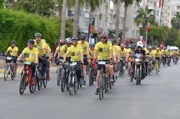 4. Mersin Caretta Bisiklet Festivali başladı