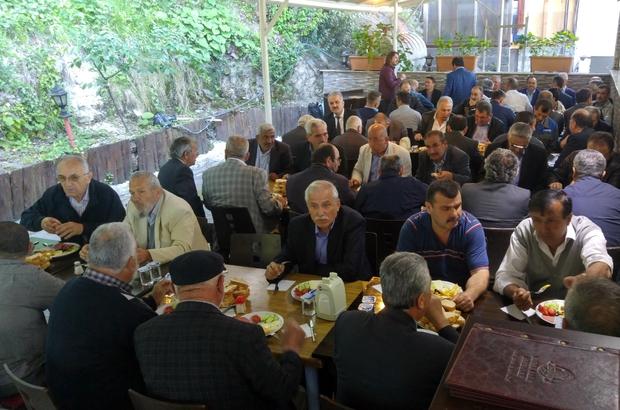 Kdz. Ereğli'de AK Partililer sabah kahvaltısında buluştu