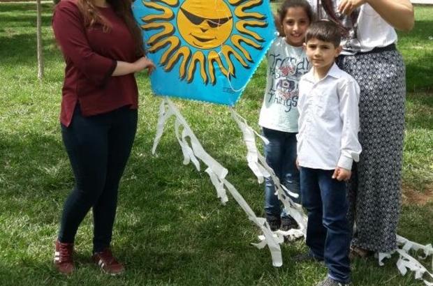 Ders projeleri Suriyeli yetim çocuklar için