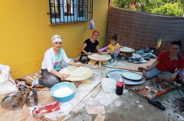 Fatsalı kadınların Ramazan hazırlığı