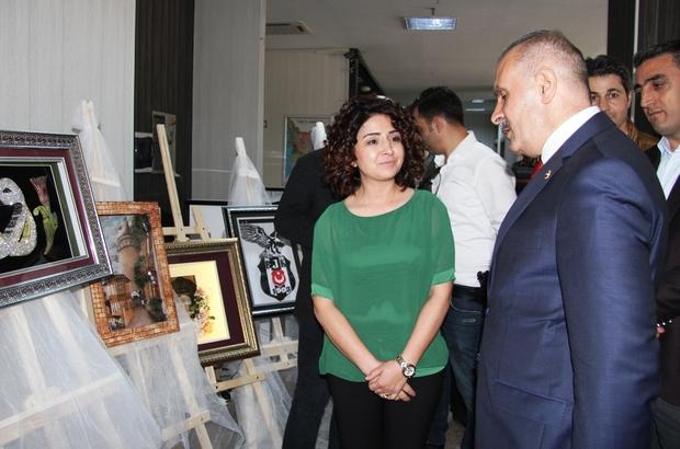 Milletvekili Kayatürk Edremit HEM sergisini gezdi
