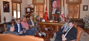 Başkan Yağcı'ya Bursa Türk Standartları Enstitüsü çalışanlarından ziyaret