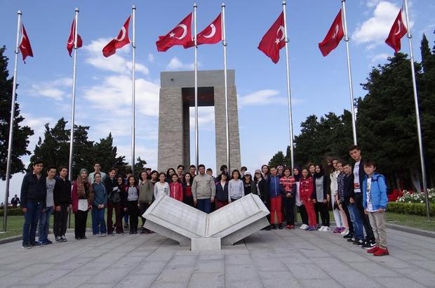 Vezirhan Belediyesi'nden öğrencilere Çanakkale gezisi