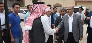 Vali Mahmut Demirtaş, muhtar ve vatandaşlarla buluştu
