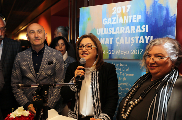 1. Gaziantep Uluslararası Sanat Çalıştayı