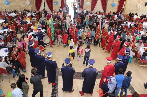 Elazığ'da 'Yetim Gülerse Dünya Güler' projesi