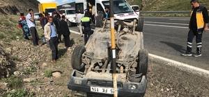 Ağrı'da trafik kazası: 7 yaralı
