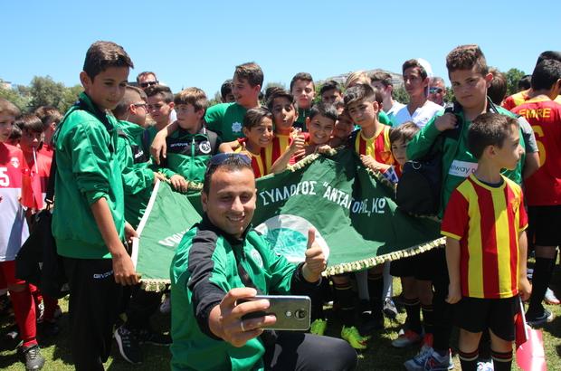Bodrum'da Türk-Yunan dostluk maçı