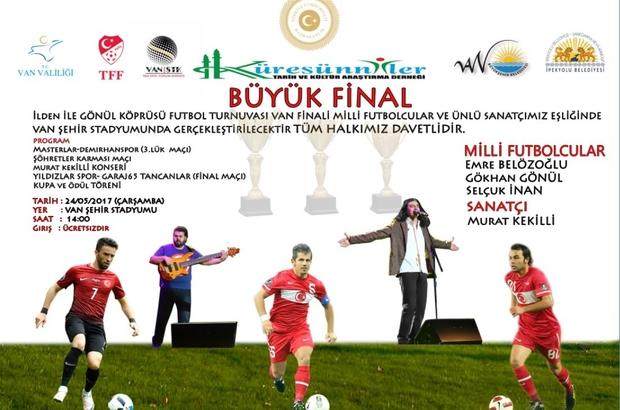 Süper Lig'in ünlü futbolcuları Van'a geliyor