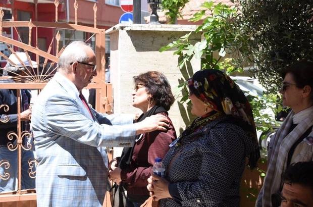 Başkan Albayrak, cenaze törenlerinde acılı aileleri yalnız bırakmıyor