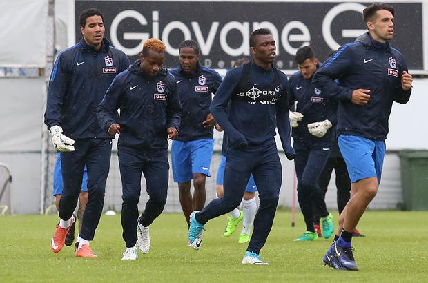 Trabzonspor, Medipol Başakşehir maçına hazır
