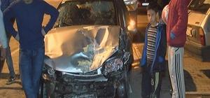 Erkilet Bulvarı'nda trafik kazası: 5 yaralı