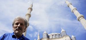 Selimiye'nin minareleri mahyayla süslendi