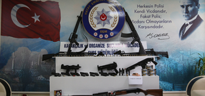 Hatay'da silah kaçakçılığı operasyonu